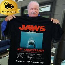 Jaws 45Th Anniversary Film Movie Tee Shirt