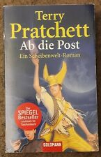 Terry Pratchett: Ab die Post - Goldmann Taschenbuch Scheibenwelt