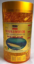 Costar Shark Liver Oil 1000mg 365 Capsules Australian Made