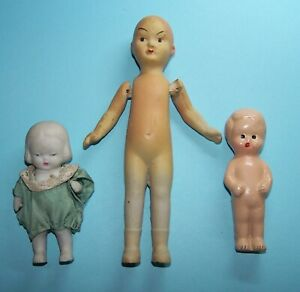 Vintage Bisque and Composition Dolls Japan