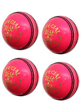 Special Test 4 Piece Genuine Leather Balls Pink Color High Quality Pack of 4