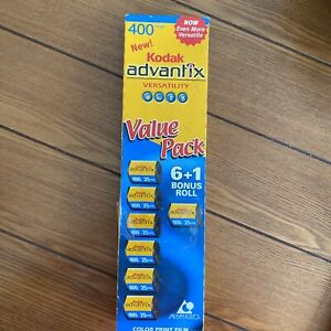 Kodak Advantix Color Print Film (7 Roll Pack) 400 - 25 Exposures Expired 6/2005