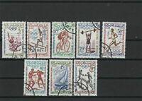 Morocco Cancelled Olympics Stamps Ref 26245