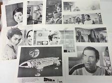 Vintage 1970s Set of 10 Space:1999  8x10 B&W Litho/Still- Warehouse Find