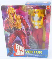 "Mattel USA BIG JIM 10"" VEKTOR SPACE MISSION MASTER Action Figure MISB`84 RARE!"