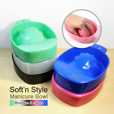 Soft 'n Style Translucent Manicure Bowl Variety Color