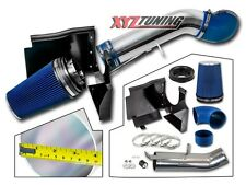 "4"" BLUE 2003 2004 2005 2006 Silverado 4.8L/5.3L/6.0L Heat Shield Cold Air Intake"