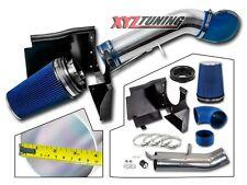 "4"" BLUE 2003 2004 2005 2006 Silverado 4.8L/5.3L/6.0L Heat Shield Cold Air Intake"