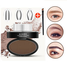 Natural Eyebrow Makeup Brow Stamp Palette Delicated Shadow Definition Waterproof