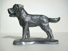St. Bernard Dog, Pewter Figurine - Very Nice Piece - Excellent Condition!