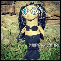Dumpster Dollies OOAK Art Doll Primitive, Mermaid, Halloween, Gothic, Morbid