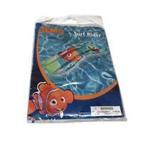 "Disney Pixar FINDING NEMO 28"" Surf Rider Inflatable Kids Pool Beach Float"