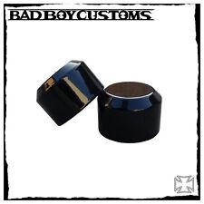 Achsen cover vorne schwarz Harley Davidson Night Rod,V-Rod,Muscle,Breakout