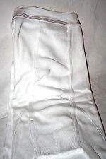 Original 70er Jahre Herren lange Unterhose Hose Gr. 12 Weiß Doppelripp Baumwolle