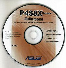 ASUS P4S8X series  Motherboard Drivers Install  M252