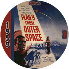 """Plan 9 From Outer Space (1959) Sci-Fi and Horror """"B"""" NR CULT Movie DVD"""