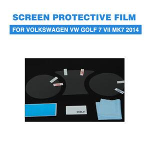 Screen Protective Film PET Car Dashboard Protectors For Volkswagen VW Golf 7 VII