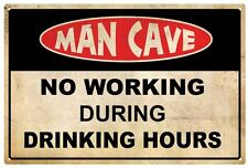 Man Cave Decorative Plaques & Signs