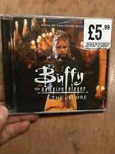 Buffy The Vampire Slayer:Score Soundtrack CD New+Sealed Christophe Beck 2 3 4 5
