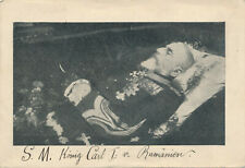kuk Monarchie Post mortem Rumänien König Carl I. Braila Sarg Balkan Karpaten