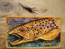 Fishpond Brown Trout Fly Fishing sticker