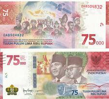 Indonesia / Indonesien - 75000 Rupiah 2020 UNC - Pick New, Gedenkausgabe