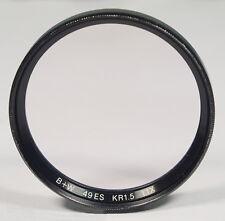 B + W ø49mm claraboyas-filtro Filtro filtre kr1, 5 1,1x einschraub screw en - (41857)