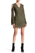 NWT Keepsake the Label Porcelain Lace Cold Shoulder Dress XS $200
