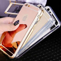 Ultra-Thin Mirror Soft TPU Case Cover For iPhone SE 5/5s 6/6 /7/8/8+