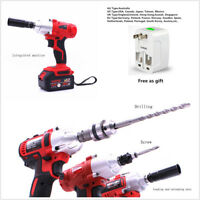 Integrated Electric Impact Wrench Car Socket Electric Impact Drill With Adaptor