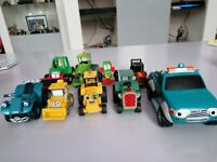 Bob The Builder Vehicles Vintage X9 Diecast Racing Champions And Chapman
