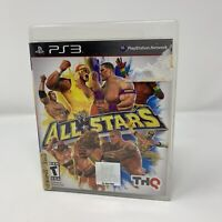 WWE All Stars Sony PlayStation 3 PS3 Game Complete With Manual Tested