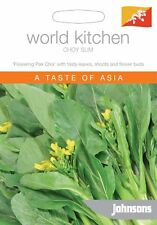 Johnsons World Kitchen Vegetable - Pictorial Pack - Choy Sum - 500 Seeds