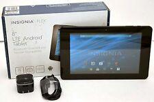 "Insignia FLEX NS-15T8LTE Verizon 8-32GB 4G Wi-Fi LTE Android Tablet Black 8"""