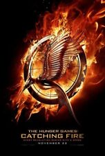 HUNGER GAMES CATCHING FIRE MOVIE POSTER 2 Sided ORIGINAL 27x40 JENNIFER LAWRENCE