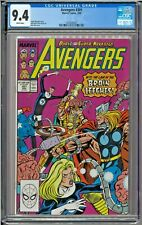 Avengers #301 CGC 9.4 White Mister Fantastic Invisible Woman Thor