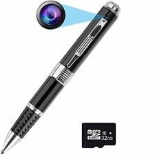 PANNOVO Spy Camera Pen Hidden Camera HD 1080P Mini Meeting Video Recorder Nanny
