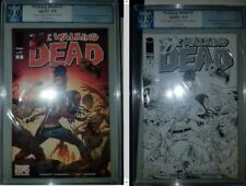 The Walking Dead #1 Image Expo 2014 Sketch and Color by Dragotta NOT CGC 9.9