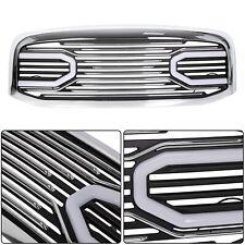 For 06-09 Dodge Ram 2500 3500 1500 Front Hood Chrome Big Horn Grille+Shell+Light (Fits: Dodge Ram 2500)
