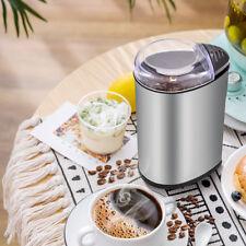 200W Elektrische Kaffemühle Edelstahl Kaffeemühle Scheibenmahlwerk Espressomühl