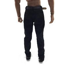 "1/6 Scale Male Black Pants Trousers for 12"" Men Hot Toys HT Action Figure Accs"