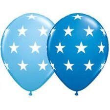 Big Stars Assorted Blue latex balloons x 5