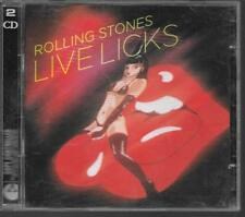 2 CD COMPIL LIVE 23 TITRES--THE ROLLING STONES--LIVE LICKS