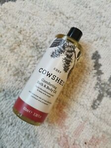 Cowshed Cosy Comforting Bath & Body Oil, 100 ml Rose, Patchouli & Cinnamon New.