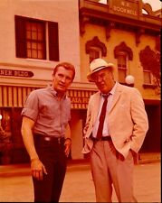 ROY THINNES EDMUND O'BRIEN LONG HOT SUMMER RARE 1966 ABC TV PHOTO TRANSPARENCY