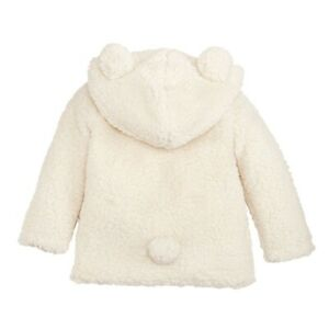 Mud Pie H0 Kids Girl Boy Bundle Me Up Ivory Sherpa Hoodie 11080058 Choose Size