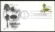 1978 First Day of Issue American Trees
