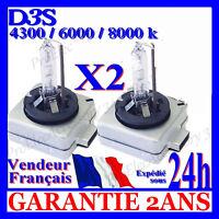 2 AMPOULES D3S 35W AUDI A4 b8 KIT HID LAMPE BI XENON 4300K 5000K 6000K 8000K 12V