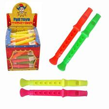 Birthday Party Loot Bag / Pinata Fillers - 8 x Colourful Flutes