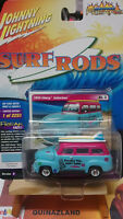 Johnny Lightning Freaks  Surf Rods 1950 Chevy Suburban version B (N25)